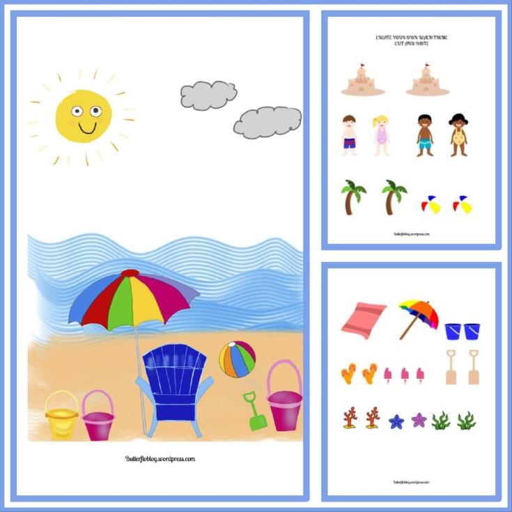 Beach Theme Activity