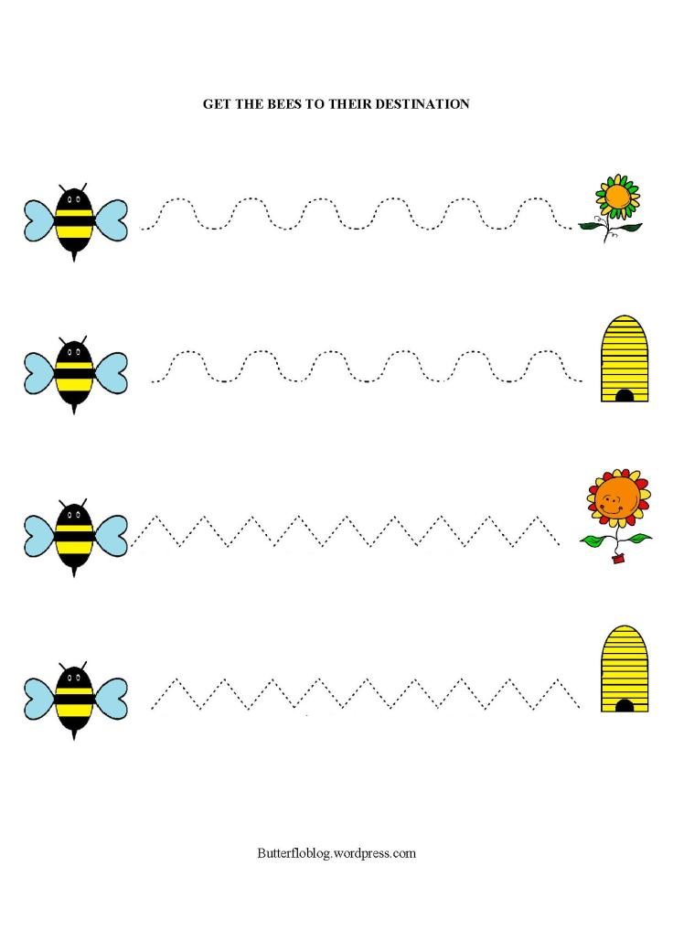 Bumble Bee Line Trace