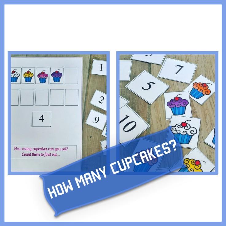 HOW MANY CUPCAKES?