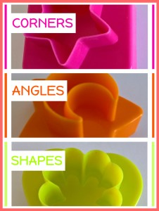 CORNERS ANGLES SHAPES