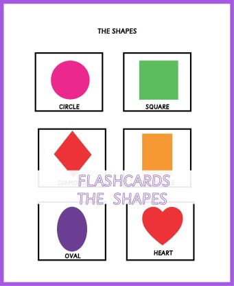 FLASHCARDS THE SHAPES