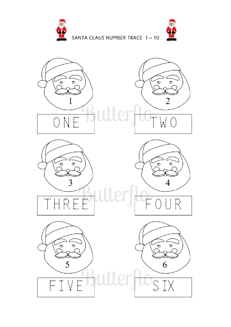 SANTA CLAUS NUMBER TRACE