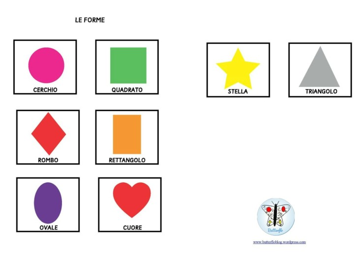 FLASHCARDS LE FORME