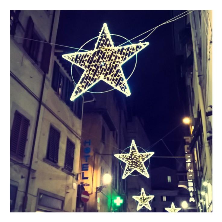 CITY LIGHTS FLORENCE DECEMBER 2017