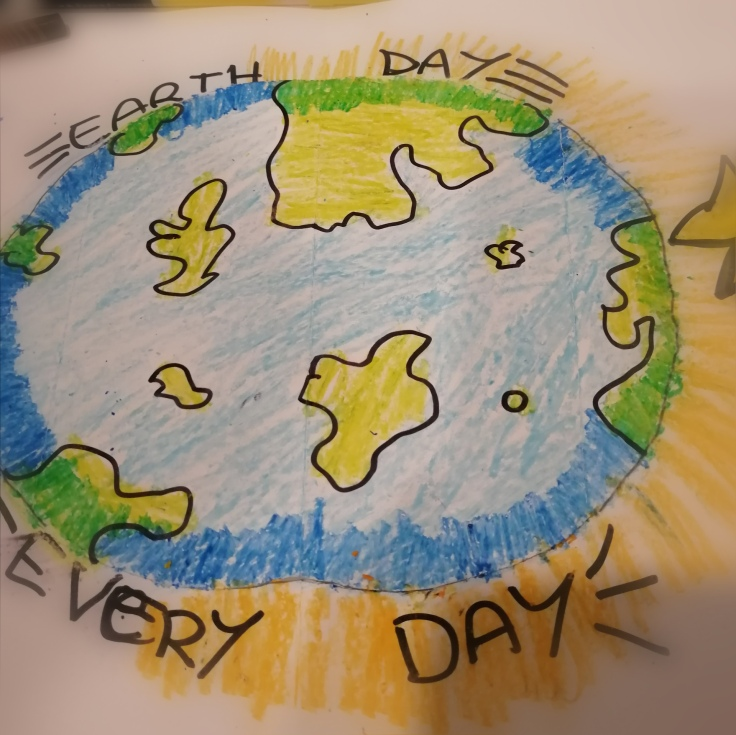 EARTH DAY POP UP CARD