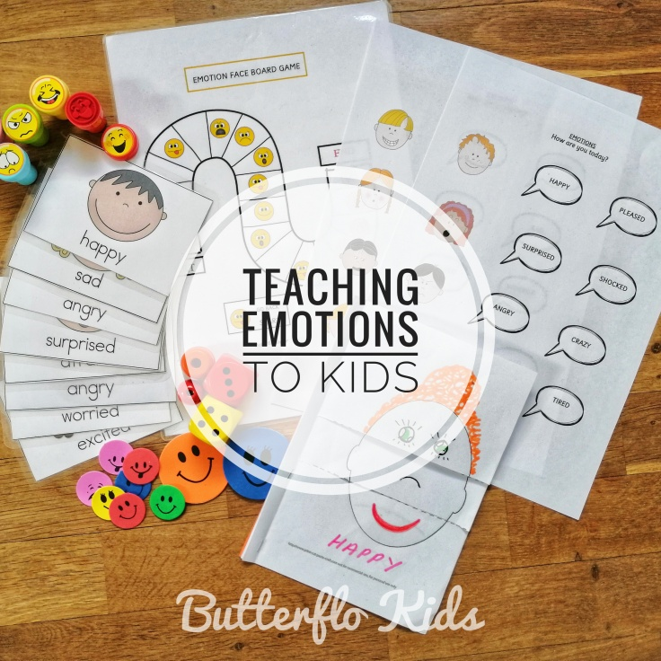 TEACHING EMOTIONS TO KIDS