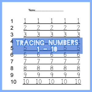 NUMBER TRACE 1 - 10