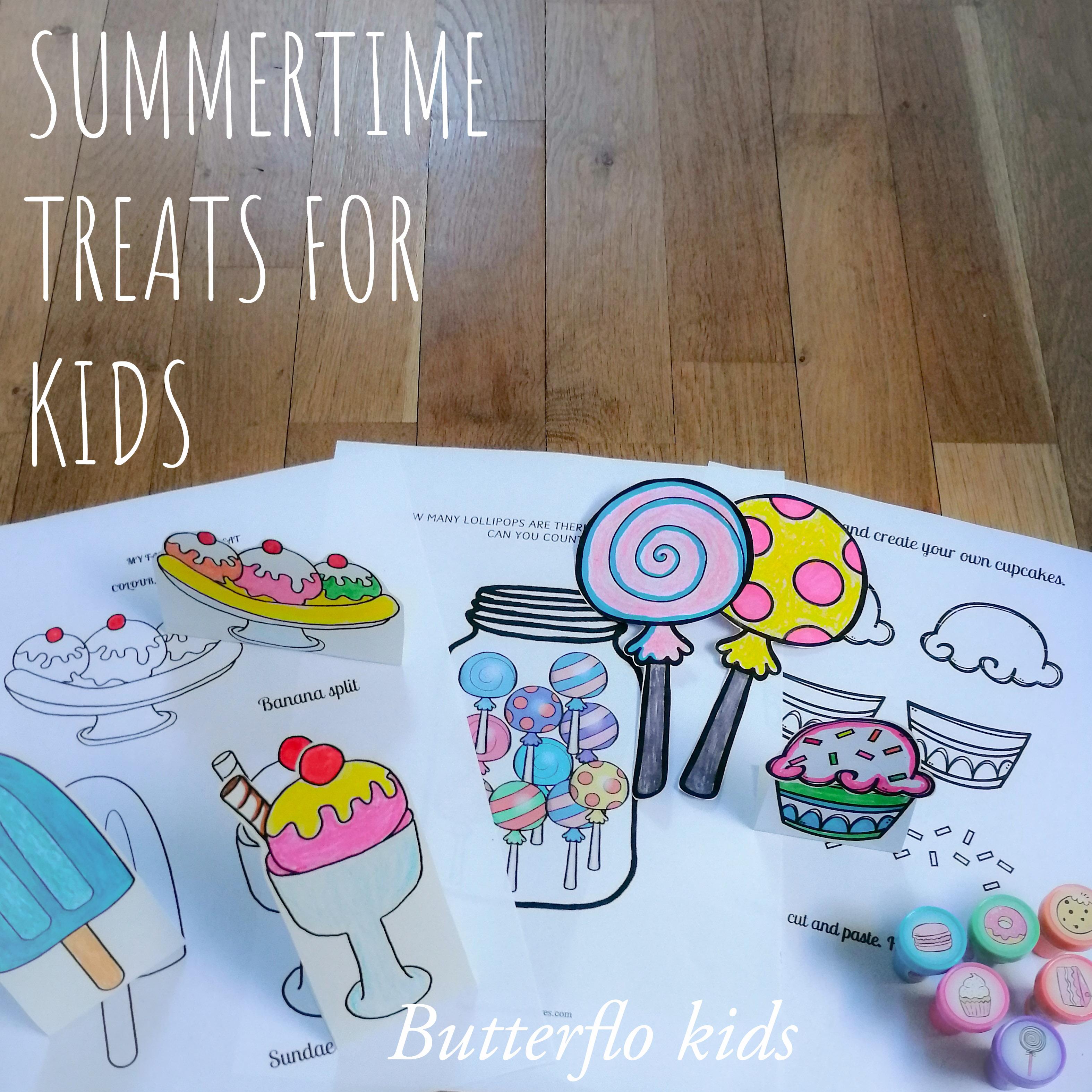 SUMMERTIME TREATS FOR KIDS