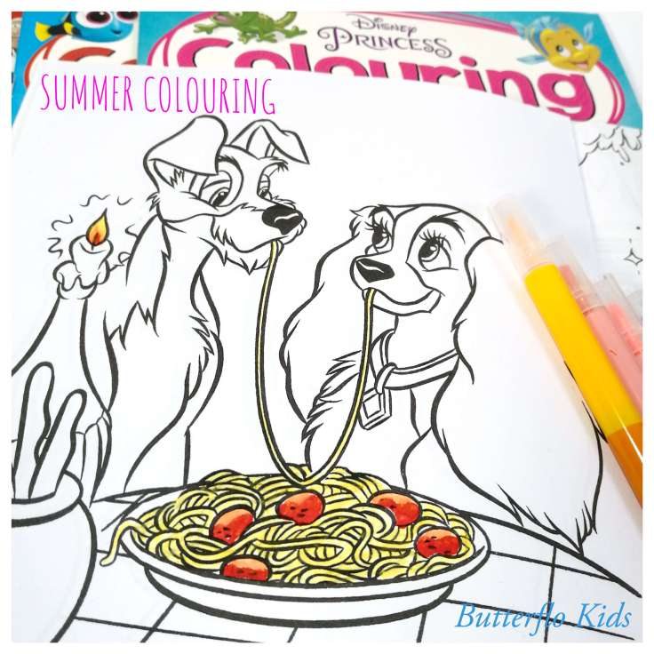 SUMMER COLOURING BOOKS