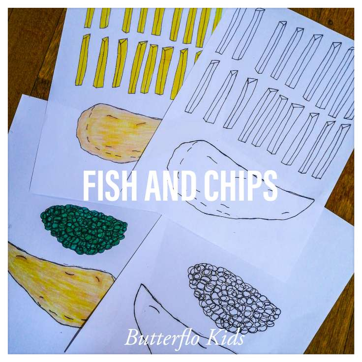 FISH AND CHIPS TEMPLATE